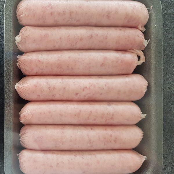 Gluten Free Goat Sausages