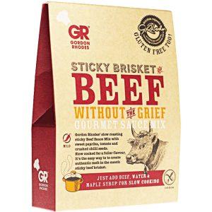 Sticky Beef Brisket