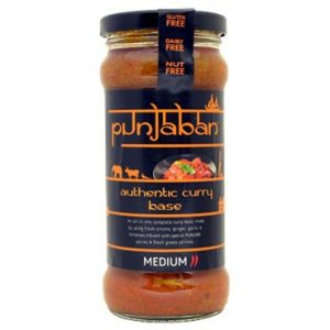 Punjaban Medium Curry Sauce