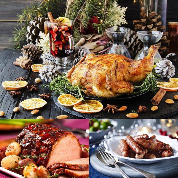 christmas meat hamper