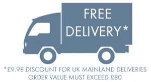 Free Delivery on orders over £80