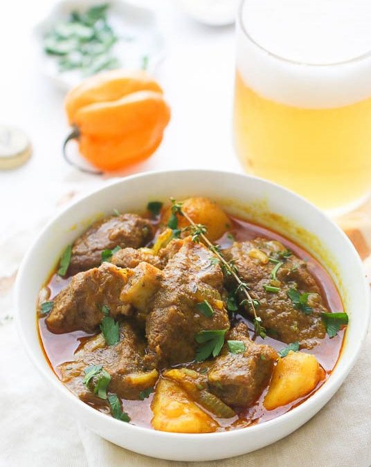 Our Famous Jamaican Curried Goat